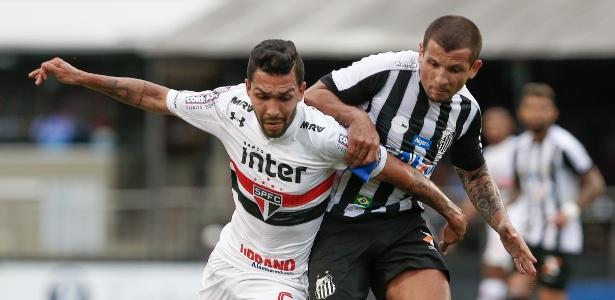 São Paulo foi derrotado no último domingo pelo Santos