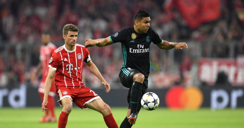 Casemiro domina a bola em Bayern de Munique x Real Madrid 097e71c5839e0