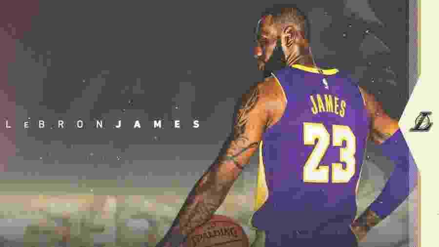 Divulgação/Twitter/Los Angeles Lakers