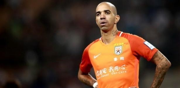 Diego Tardelli deixou o futebol chinês recentemente e está perto do Grêmio - Reprodução