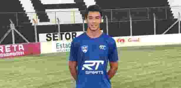 Lucas Tavares no São José - Acervo pessoal - Acervo pessoal