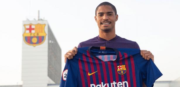 Gabriel Novaes foi anunciado pelo Barcelona e jogará no Barcelona B