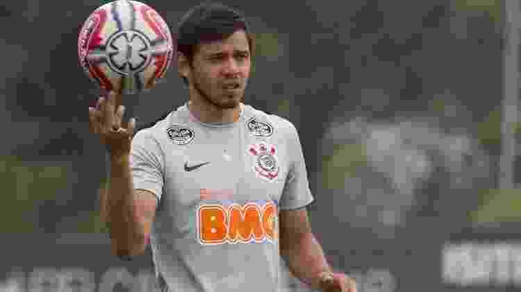Ángel Romero treina no CT do Corinthians em fevereiro de 2019 - Daniel Augusto Jr/Ag. Corinthians  - Daniel Augusto Jr/Ag. Corinthians