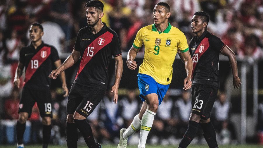 Brasil sofreu para conseguir enfrentar o Peru em amistoso nos EUA - Pedro Martins/Mowa Press