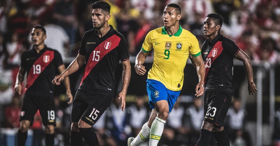Richarlison Brasil x Peru