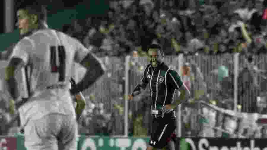 Nenê marcou o gol da vitória do Fluminense na estreia no Carioca - BRUNINHO VOLOTãO/AM PRESS & IMAGES/ESTADÃO CONTEÚDO