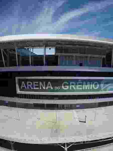 Arena do Grêmio deve ficar fora da estreia da equipe tricolor gaúcha no Brasileirão 2020 - Wesley Santos/Drone Service Brasil/ Divulgação