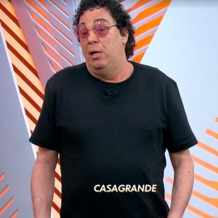 Walter Casagrande Jr durante o programa Globo Esporte - Reprodução/TV Globo