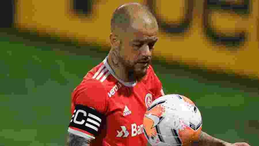 """D""""Alessandro tem 39 anos e defende o Internacional há mais de 10 - Ricardo Duarte/Inter"""
