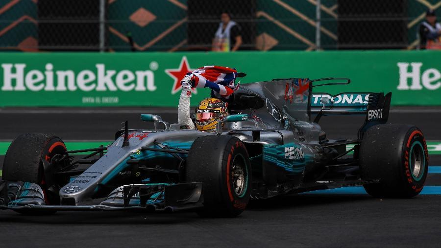Lewis Hamilton na Fórmula 1: Band busca antigos patrocinadores da categoria na Globo - Anadolu Agency/Getty Images