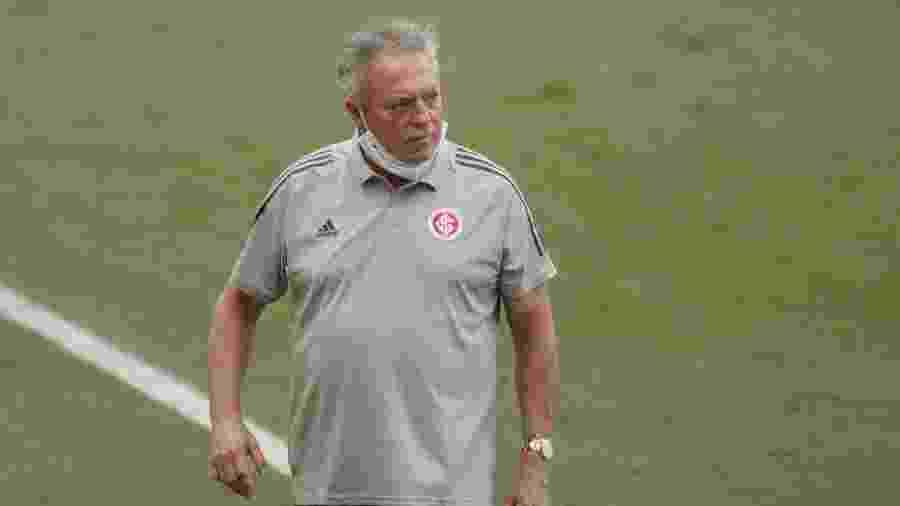 Abel Braga e o Inter avaliam o início complicado de trabalho e pressão aumenta para Libertadores - Ettore Chiereguini/AGIF