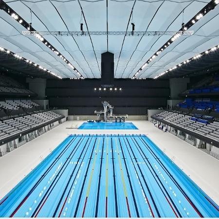 Centro Aquático dos Jogos Olímpicos de Tóquio - Divulgação
