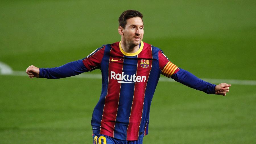 Messi chegou a 50 gols de falta pelo Barcelona - Albert Gea/Reuters