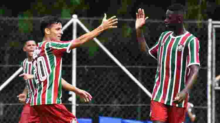 Gabriel Teixeira e Luiz Henrique pelo Campeonato Carioca Sub-20, em 2019 - Mailson Santana / Fluminense FC - Mailson Santana / Fluminense FC