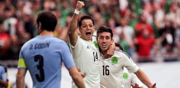 Uruguai perdeu para o México na estreia da Copa América