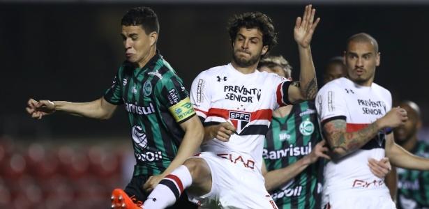 São Paulo perdeu por 2 a 1 o jogo de ida contra o Juventude