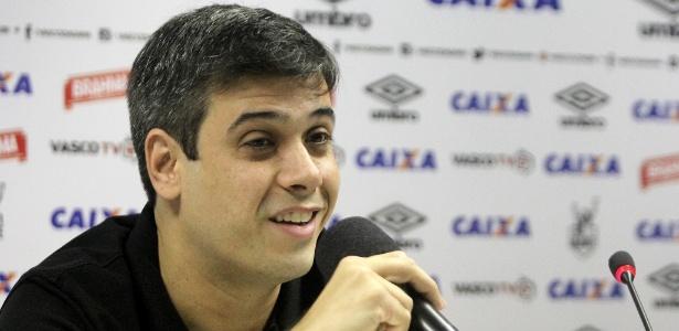 Eurico Brandão, filho de Eurico Miranda, é o novo vice-presidente de futebol do Vasco - Paulo Fernandes/Vasco.com.br