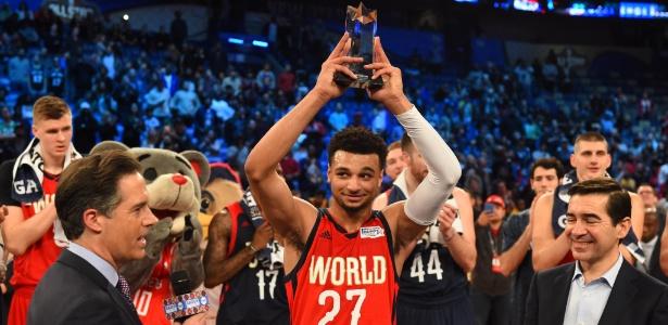 Jamal Murray ganhou o troféu de MVP - Bob Donnan/USA Today Sports