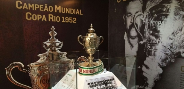 Exposição na sede das Laranjeiras traz a história do título da Copa Rio