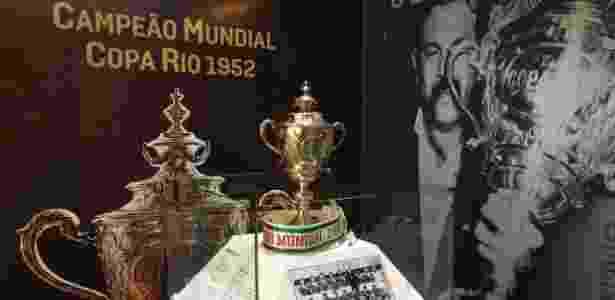 Exposição na sede das Laranjeiras traz a história do título da Copa Rio - Divulgação