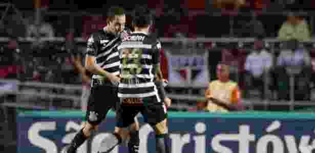 Rodriguinho comemora gol marcado contra o São Paulo - Marcello Zambrana/AGI