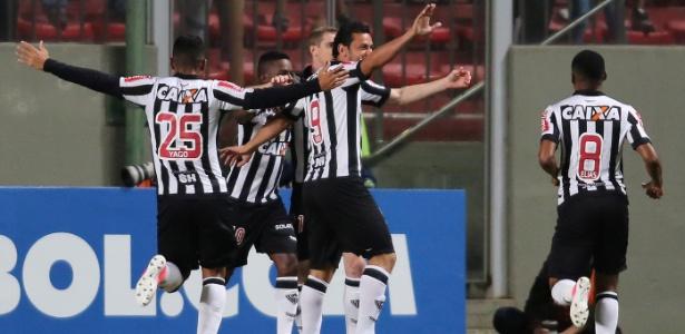 Com 13 pontos e saldo +11, Atlético-MG garantiu a melhor campanha da fase de grupos - Cristiane Mattos/Reuters