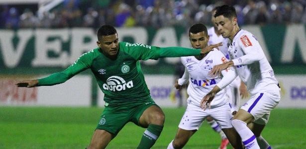 Com a camisa da Chape, Reinaldo chamou a atenção da diretoria do São Paulo