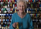 Mulher de 85 anos ignora osteoporose e bate recordes na meia-maratona - Reprodução/Twitter