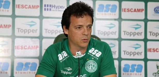 Fernando Diniz foi apresentado pelo Guarani no começo de dezembro