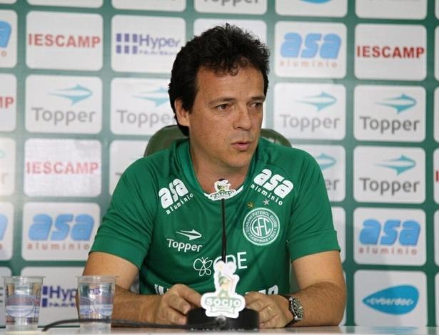 Diniz passou pelo Guarani como jogador, em 1995, e agora retorna para ser técnico