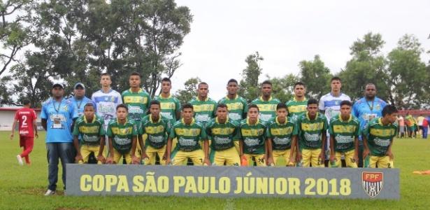 Time do Estanciano na Copa São Paulo de juniores de 2018