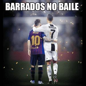 Meme Fifa The Best: Messi e CR7 - Reprodução/Twitter