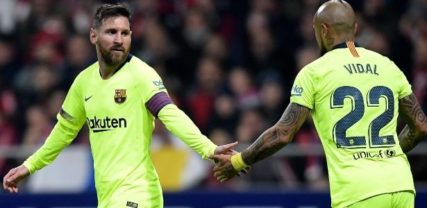 Barcelona é quem melhor paga os seus atletas em média, segundo estudo divulgado - OSCAR DEL POZO/AFP