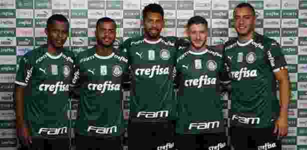 Palmeiras tem recorde de venda de uniforme e comemora início de parceria a52d817f85596