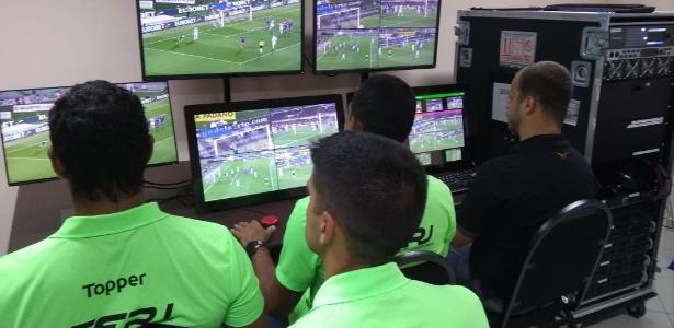 Ferj inaugurou sala de treinamento de VAR para os árbitros do Carioca - Divulgação / Ferj
