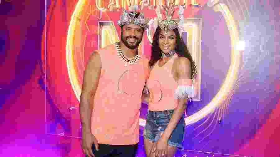 Jogador da NFL Russell Wilson e a cantora Ciara esperam o segundo filho do casal - Manuela Scarpa/Brazil News
