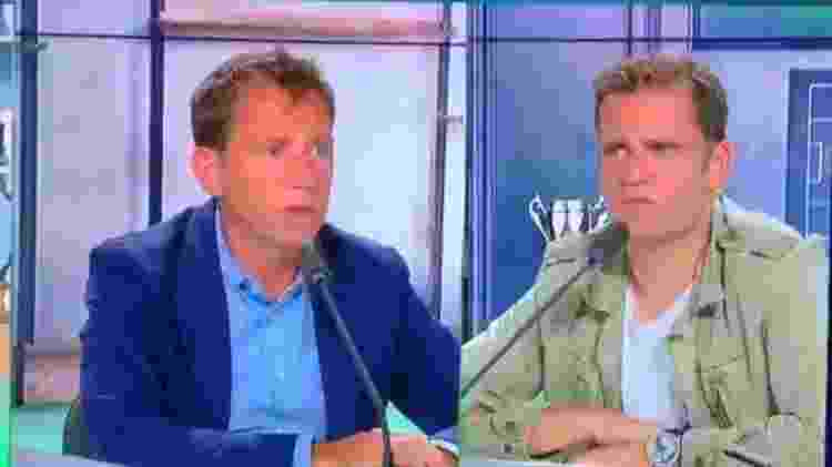 Daniel Riolo e Jerome Rothen foram suspensos na RMC Sports - Reprodução - Reprodução