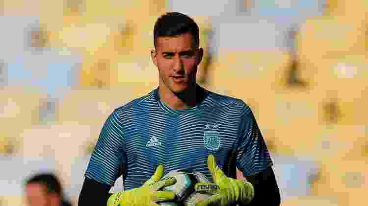 Juan Musso, jogador da seleção da Argentina - REUTERS/Luisa Gonzalez - REUTERS/Luisa Gonzalez