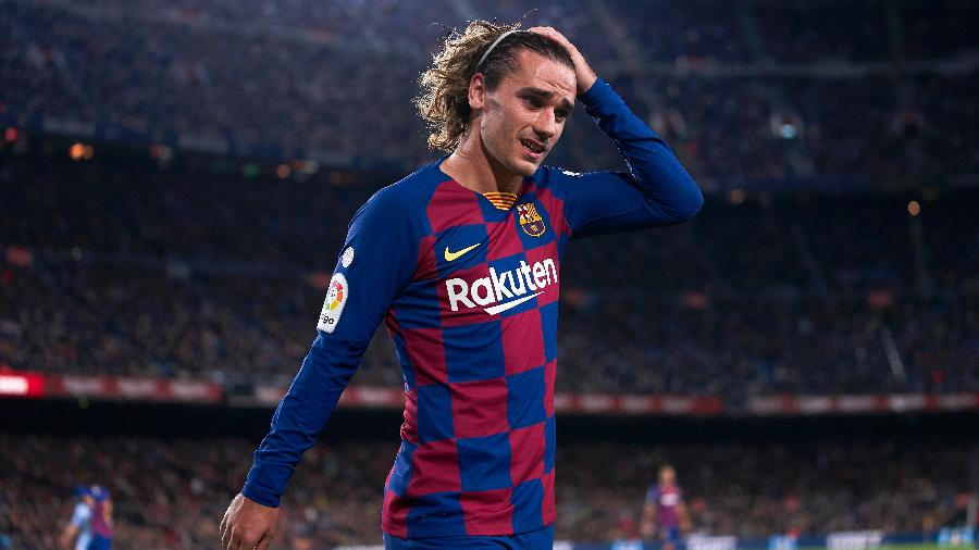Atacante francês entrou apenas nos minutos finais do empate do Barcelona contra o Atlético de Madri - Quality Sport Images/Getty Images