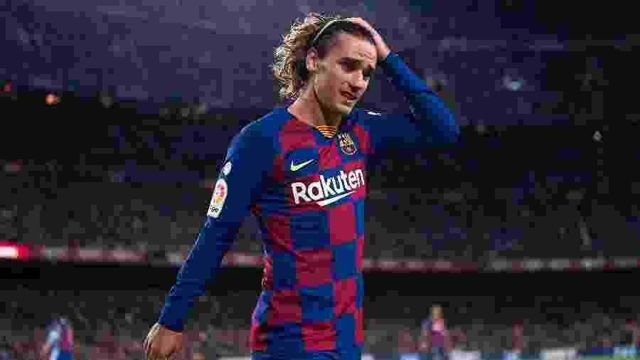 Antoine Griezmann está lesionado, mas técnico francês confia que ele triunfará no Barcelona - Quality Sport Images/Getty Images