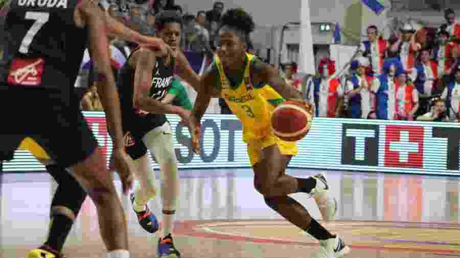 Brasil e França se enfrentam no pré-olímpico feminio de basquete para Tóquio-2020 - CBB/Divulgação
