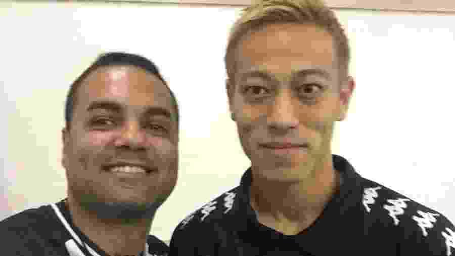 """Wellington Arruda, torcedor do Botafogo que organizou caravana para """"Aero Honda"""", conhece meia japonês - Arquivo Pessoal"""