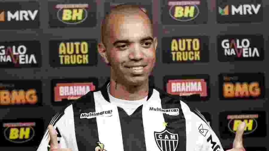Diego Tardelli chegou ao Atlético-MG de forma gratuita no mercado da bola, mas tem o maior salário do elenco - Bruno Cantini/Atlético-MG