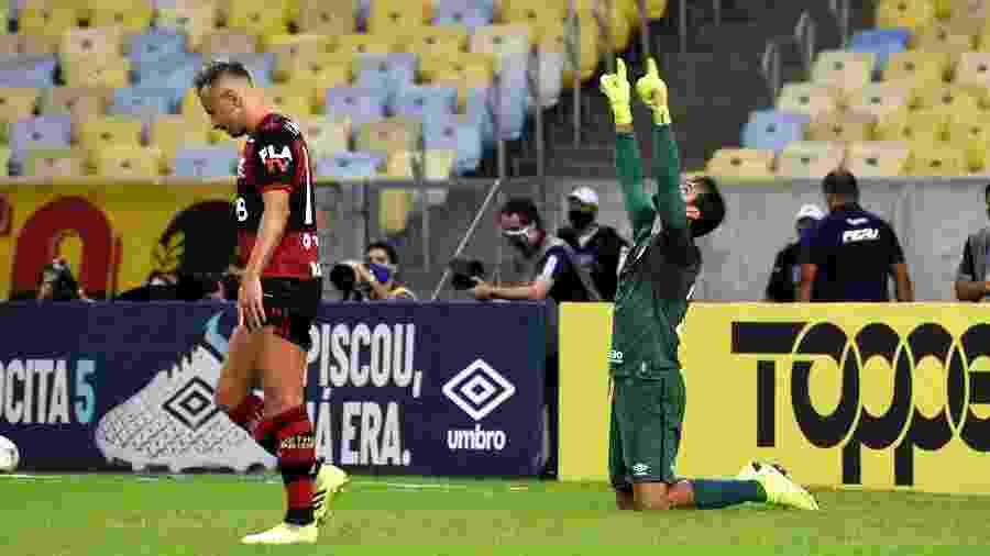 Muriel parou cobrança de pênalti de Rafinha e deu o título da Taça Rio ao Fluminense - Mailson Santana/Fluminense FC