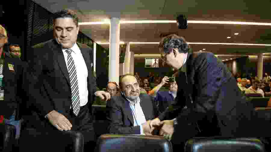 Sérgio Sette Câmara e Alexandre Kalil estão em lados opostos na política alvinegra - Bruno Cantini