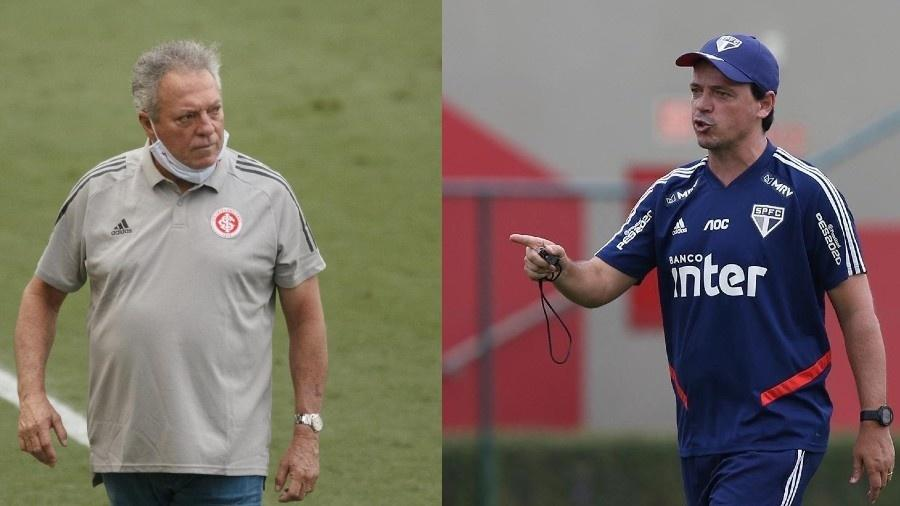 Abel Braga e Fernando Diniz