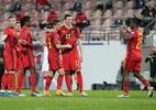 Bélgica atropela Belarus por 8 a 0 e mantém liderança nas Eliminatórias - François WALSCHAERTS / AFP