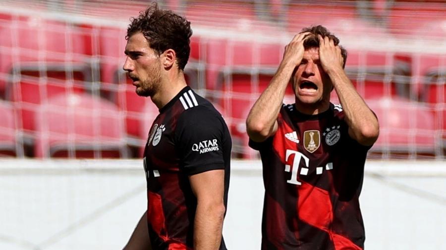 Bayern de Munique perdeu por 2 a 1 do Mainz no Campeonato Alemão - REUTERS/Kai Pfaffenbach