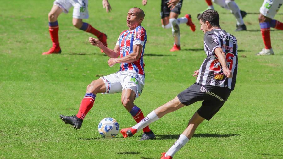 Atlético-MG e Bahia se enfrentaram no último domingo pela Série A do Brasileirão, e o Galo levou a melhor, no Mineirão -  VIVIANE MOREIRA/FUTURA PRESS/ESTADÃO CONTEÚDO