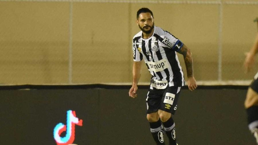 Pará durante partida do Santos contra a Juazeirense, pela Copa do Brasil 2021. - Ivan Storti/Santos FC